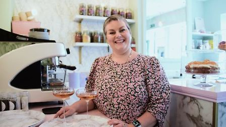 Jodie Hook and husband Jon opened up the Courtyard Cafe in Elm Hill, Norwich, only last month. Jodie