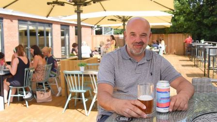 Marcus Pearcey, who has only just opened the East Hills cafe in Brundall Marina, said he was 'utterl