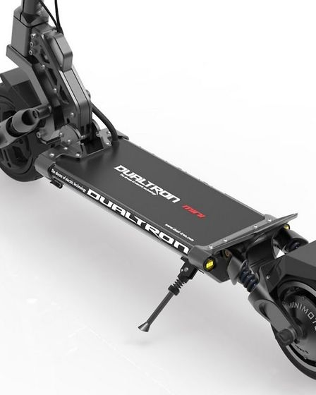 Dualtron, one of the types of electric scooter which has been stolen. PHOTO: Richard Gapper