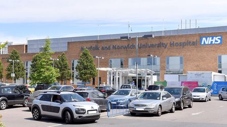 The Norfolk and Norwich University Hospital. said it was following national guidelines on the number