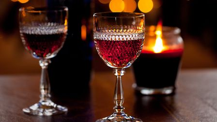 Not just for Christmas... James says a glass of sherry at noon is one of the things he enjoys at the