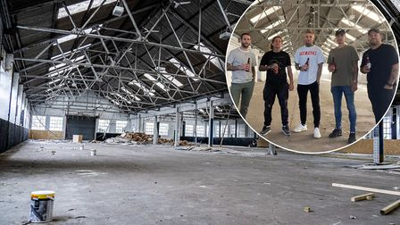 The team which has invested in The Arena in NR7, which will have four indoor football pitches. Pictu