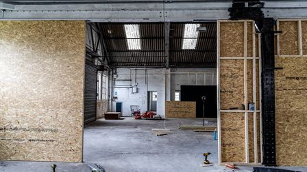 Inside the new Arena venue in NR7. Picture: Bobby Harrison