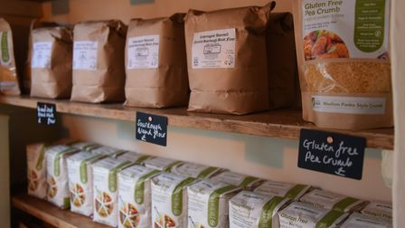 Some of the produce at Hodson & Co Cheese Room with Delicatessen at Aylsham. Picture: DENISE BRADLE