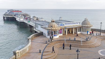 Cromer Pier but visitors from high coronavirus rate areas are not being encouraged. Picture: Brita