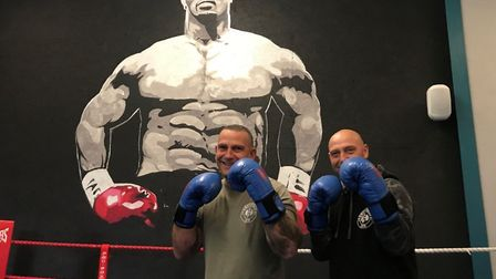 Derek Swift (right) and Ian Swift (left) have set up Swiftfitness gym in Bungay together. PHOTO: Ell