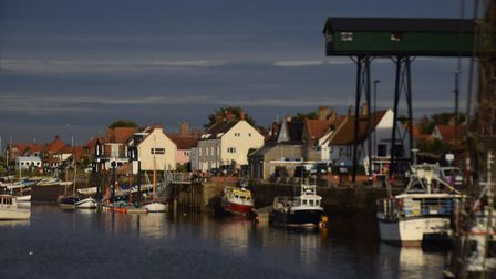 Mid-evening at Wells harbour. Picture: Jan Barrington