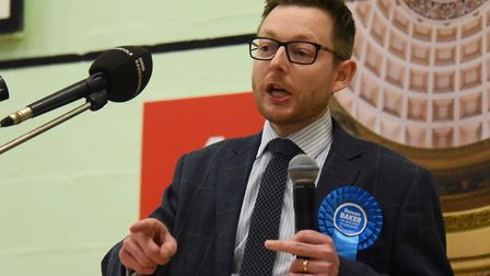 Conservative MP Duncan Baker says a national lockdown should not be forced upon North Norfolk. Pictu