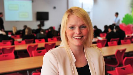 Naomi Palmer, principal of Ormiston Victory Academy in Costessey, Norwich. Picture: Nick Butcher
