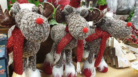There will be a range of Christmas decorations available Picture: Aztec Events