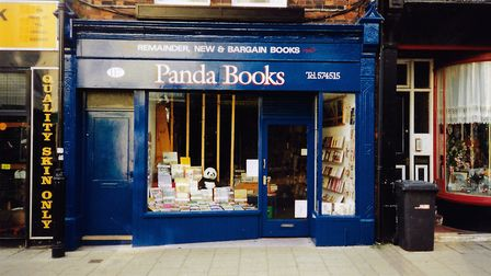 Panda Books was a popular local bookshop, situated at 117 High Street from 1977 to 2017. Picture: Ja