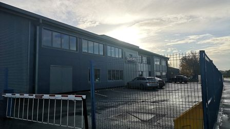 The Cranswick Country Foods factory in Watton, where there has been a coronavirus outbreak. Picture: