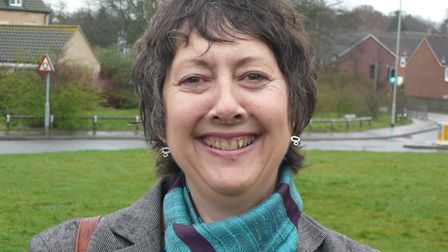 Gail Harris, Labour's candidate for Catton Grove in the Norwich City Council 2012 elections.