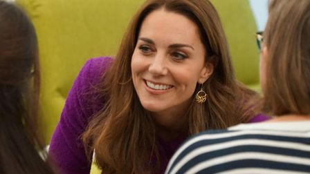 HRH Duchess of Cambridge opens EACH's The Nook Pictures: BRITTANY WOODMAN