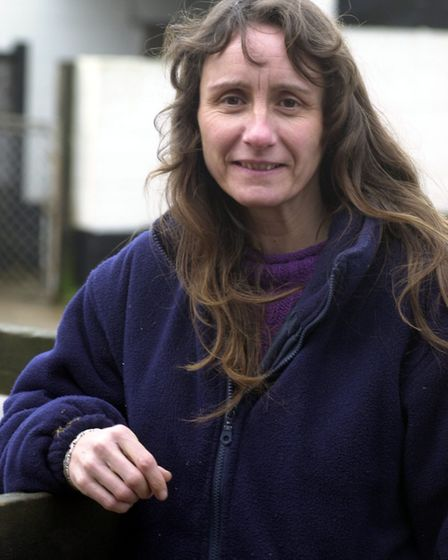 HILLSIDE ANIMAL SANCTUARY FOUNDER WENDY VALENTINE Picture: EDP Library