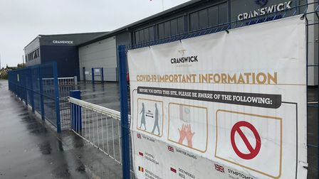 Cranswick Country Foods meat processing plant in Watton where there has been a Covid-19 outbreak. Pi