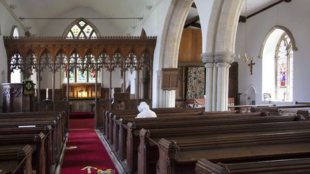 St. John the Baptist Church is open for Private Prayer during the week, allowing those who are vulne