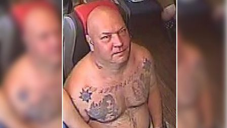 Police are looking to identify this man in relation to an assault on a bus travelling between King's