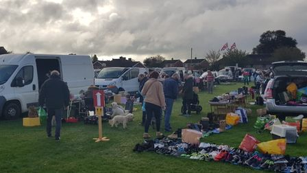 Rollesby car boot sale on the village playing fields. PHOTO: Reece Hanson