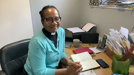 Karlene Kerr, team vicar at St Faiths Church at Gaywood in Kings Lynn, speaks about her role as bish
