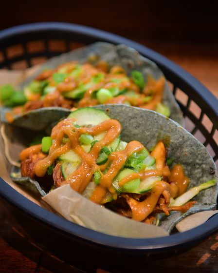 Tacos at Blue Joanna in Norwich. Picture: ANTONY KELLY