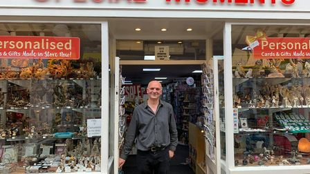 Owner of Special Moments, Nigel Maidstone said that after a busy first week, things calm down. Pictu