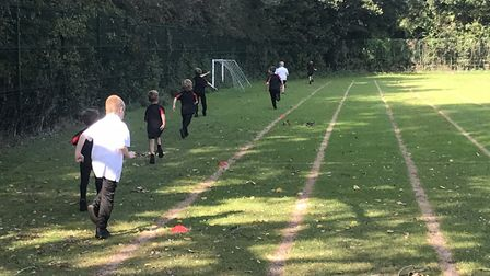 Cross country at Phoenix St Peter Academy in Lowestoft. Picture: North Suffolk Sport and Health Part