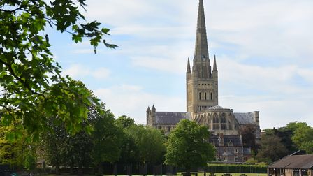 Norwich Cathedral is one of the best attractions in Norfolk Picture: DENISE BRADLEY