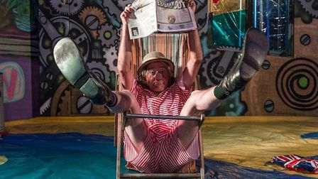 Cosmo Hardy, of Foolhardy Circus Show, is coming to Beccles. Picture: Foolhardy Circus