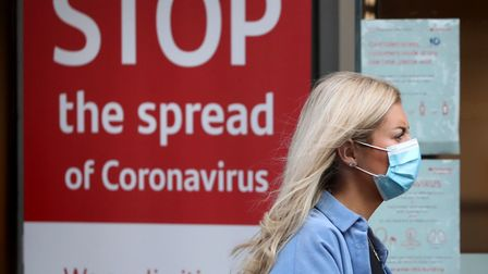 Latest figures show coronavirus cases have risen in all but two areas in Norfolk and Waveney over th