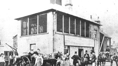 Adnams Brewery in the late 1800s. Picture: Courtesy of Adnams