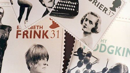"""Scientist Dorothy Hodgkin is included in a set of British stamps featuring """"Women of Achievement"""" is"""