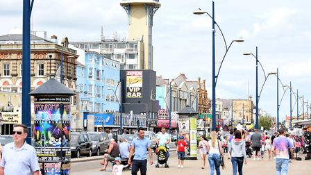 The coronavirus infection rate in Great Yarmouth is continuing to rise. Picture: Archant