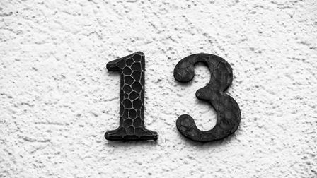 Do you think the number 13 is unlucky? Picture: Getty Images/iStockphoto