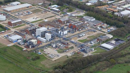 Briar Chemicals plant on Sweet Briar Road in Norwich. Picture: Mike Page