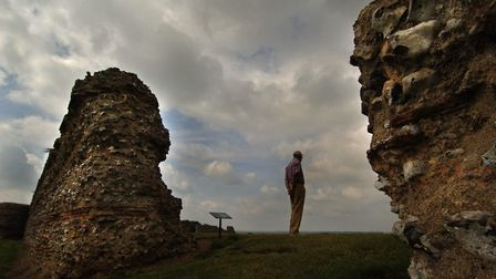 Many ghosts are said to roam the ruins of Burgh Castle. Picture: EDP Library