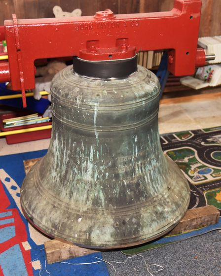 The Church of St Peter in Hedenham has the 6 bells rehung in the tower after renovation work ensures