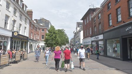Officers could be sent into Norwich city centre to make sure people understand coronavirus rules. Pi