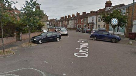 A bag of fishing equipment and a battery drill were stolen after a shed at a home on Oxford Road in