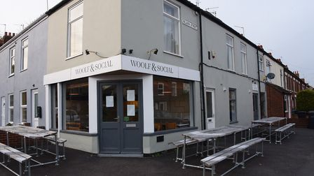 The Woolf and Social restaurant on Nelson Street. Picture: DENISE BRADLEY