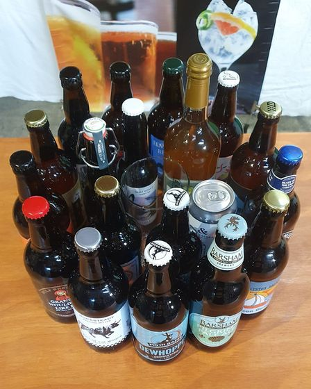 A selection of beers that the ten day virtual Fakenham beer amd gin festival is featuring. Picture:
