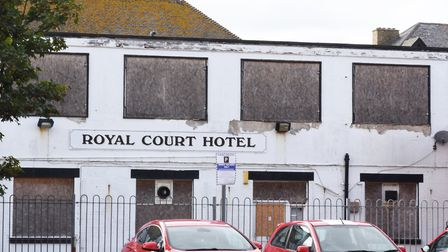 Revised plans have been lodged for the former Royal Court Hotel in Lowestoft. Pictures: Mick Howes