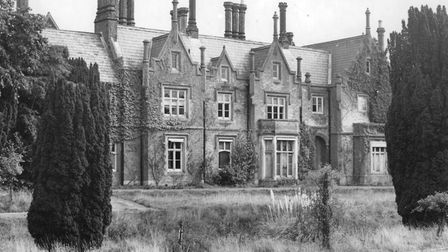 Holt Hall, c.1945. Picture: Archant Library