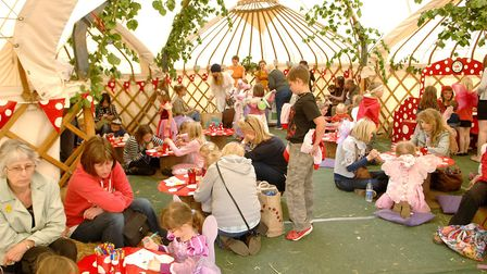 Holt Hall's Fairy Fair 2011, where kids and parents can learn about narural in magical ways. Activit