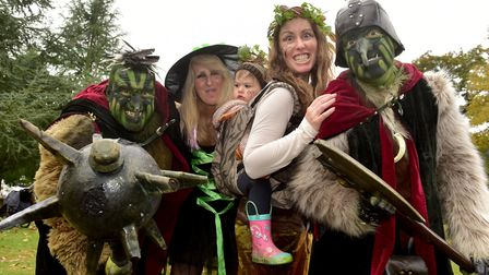 The Fairyland trust's Real Halloween event at Holt Hall. PHOTO: Nick Butcher