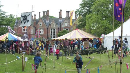 The fairies take over Holt Hall over the bank holiday weekend to hold their annual Fairy Fair in the