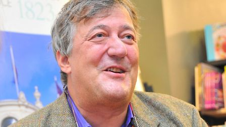 Stephen Fry has backed the appeal and is urging others to do the same. Picture by SIMON FINLAY.