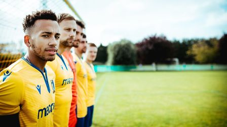 Natty Stewart believes Norwich United have what it takes to seek promotion. Picture: Kate Fraser