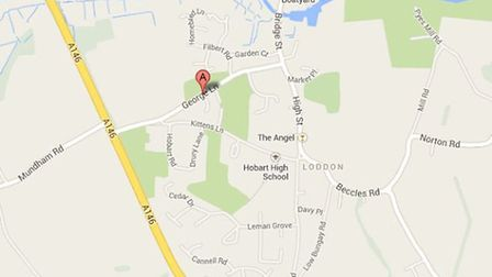 An application to build 200 homes in Loddon has been approved