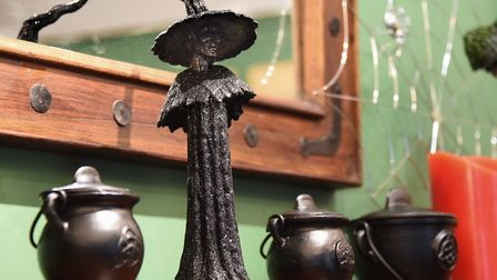 All things witchy in the Elementals Magickal Emporium at Wymondham. Picture: DENISE BRADLEY
